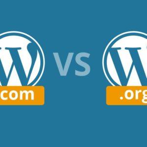WordPress.Org ile WordPress.Com arasındaki fark nedir?