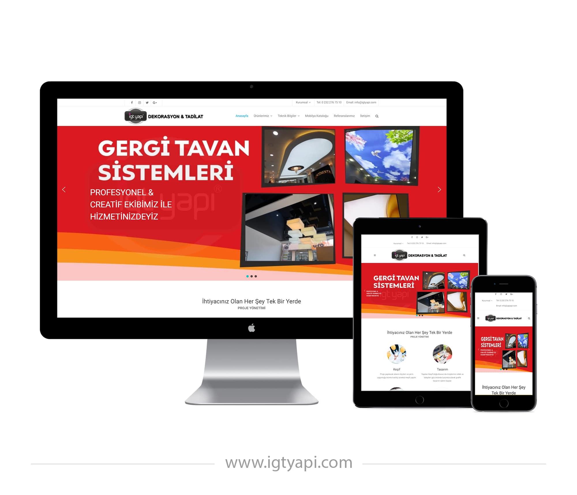 İgt Yapı - Kemal Acar Web Tasarım
