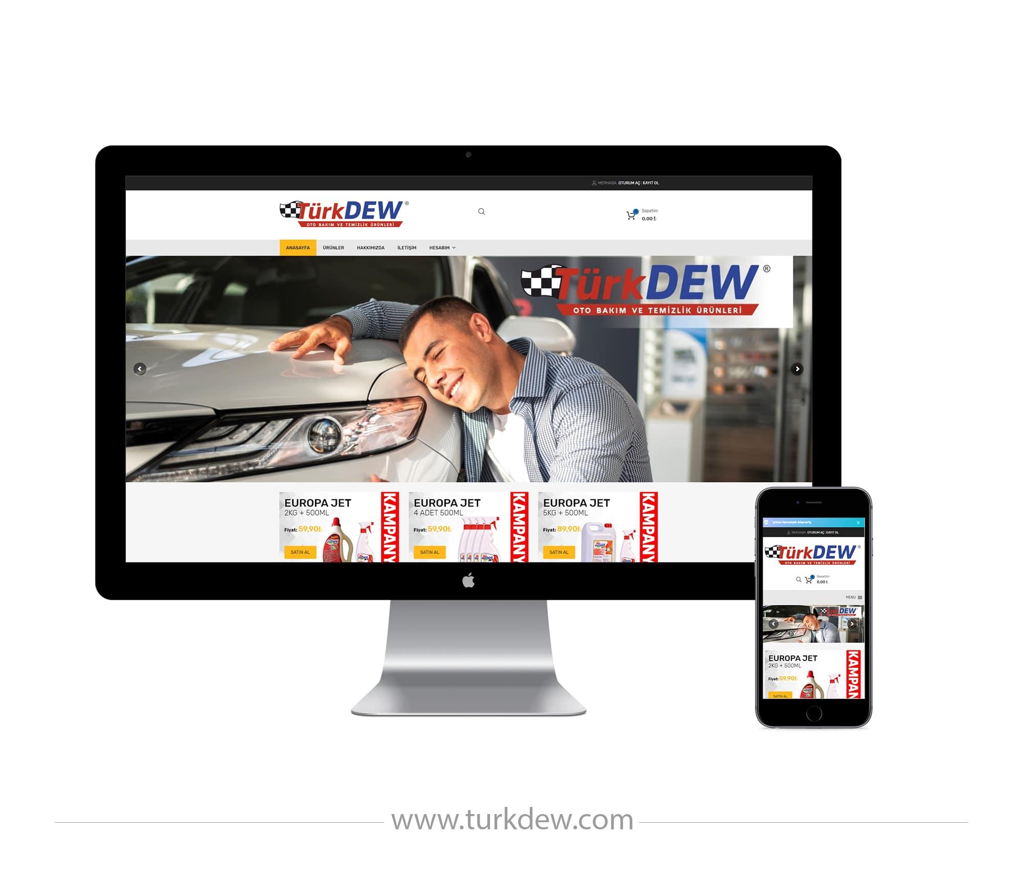 TurkDEW - Kemal Acar Web Tasarım