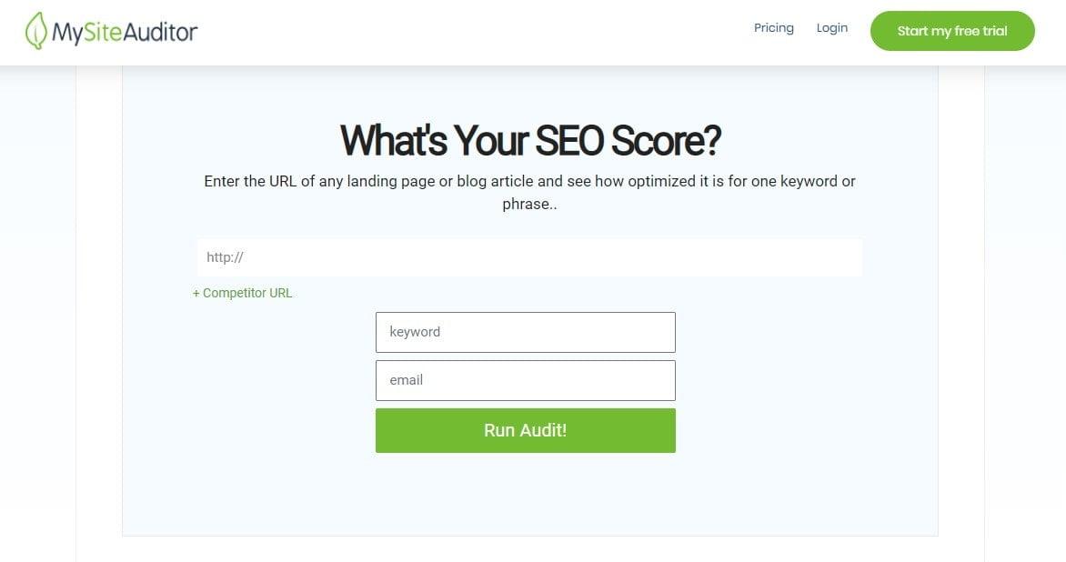 10 En İyi SEO Analiz Raporları ve Web Sitesi Denetim Aracı 7 | Kemal Acar